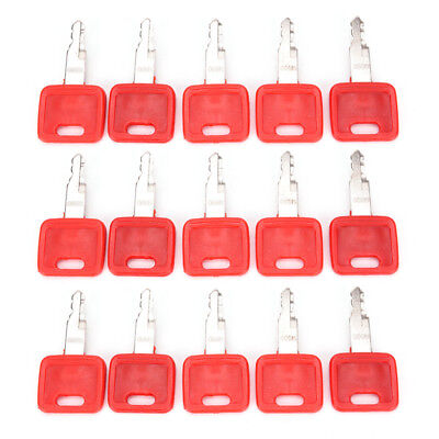 Heavy Equipment Ignition Keys for Hitachi H800 Red Excavator Key Switch PartsD_N
