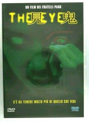 The Eye DVD Fratelli Pang Film Cinema Video Filmato Collezione Cult Raro Italy X