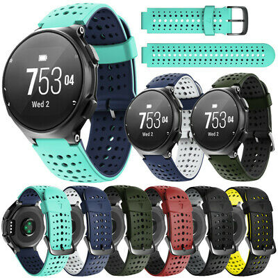 For Garmin Forerunner 220 230 235 620 630 735XT Sport Silicone Watch Band Strap
