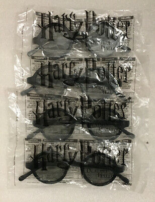 Harry Potter 3D Glasses Deathly Hallows Part 2 Movie Promo Theater Set of 4 New