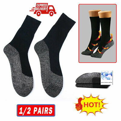Aluminized Fibers Below Socks Keep Feet Heat Insulation Warm Dry Winter warm