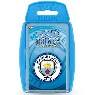 Manchester Man City Fc Top Trumps Family Card Game Official