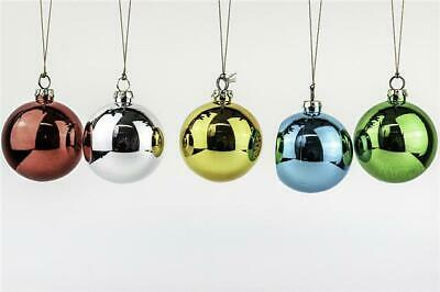 Sublimation Colourful Christmas Baubles Gift for Heat transfer printing