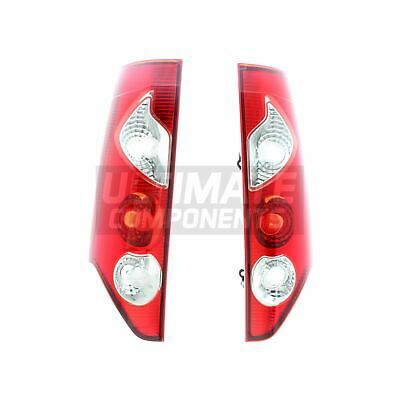 Renault Kangoo Mk2 Van 3//2013-/> 2 Door Rear Tail Lights Lamps 1 Pair O//S /& N//S