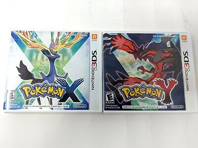 Pokemon X & Y Case and Manual Only No Game