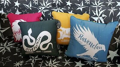 Harry potter Gryffindor, Slytherin, Ravenclaw, Hufflepuff House Cushions Pillows