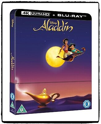 Disney Aladdin 1992 Blu-ray Steelbook 4K + 2K Limited Edition