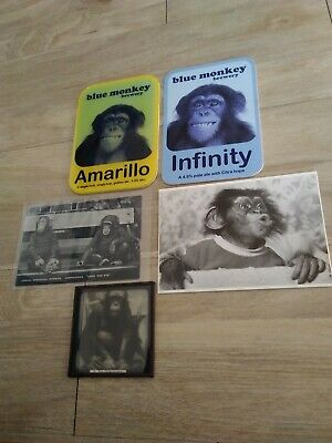 Vintage mixed lot monkey items