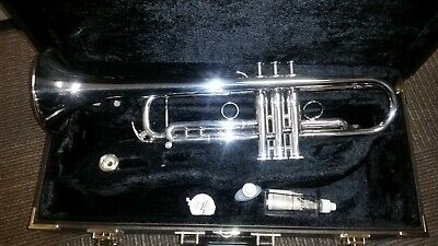 Yamaha Xeno Bb reversed leadpipe trumpet, gold-brass, 8335RGS, immaculate!