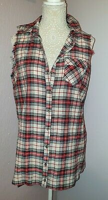 Ladies Beautiful Check Pattern Top Size 16 From River Island New Tags   💚💚
