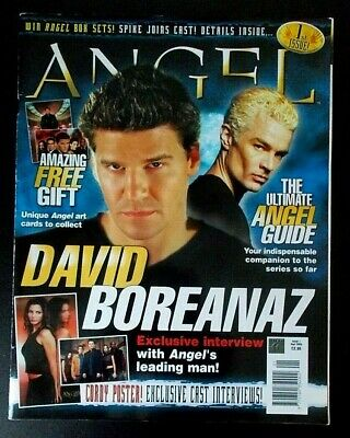 Angel The Official Magazine Issue 1 Sep 2003 David Boreanaz Buffy Vampire Slayer