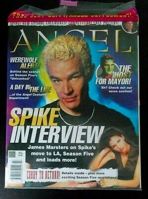 Angel Official magazine issue 7 Feb 2004 James Marsters Buffy the Vampire Slayer