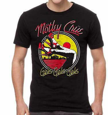 Motley Crue Girls Girls Girls Adult T Shirt Heavy Metal Music