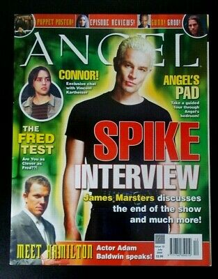 Angel Official magazine issue 12 July 2004 James Marsters Buffy Vampire Slayer