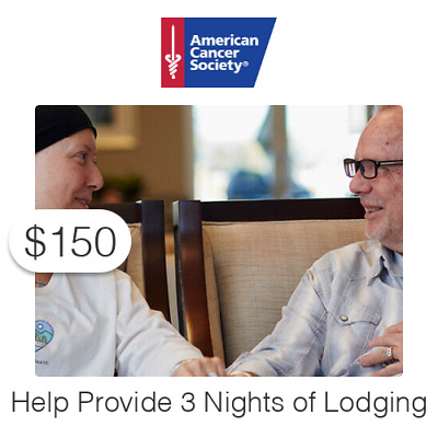 $150 Charitable Donation For: Three (3) Nights of Lodging
