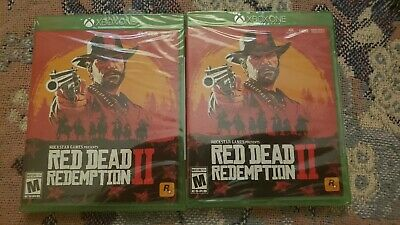 Red Dead Redemption II 2 (Microsoft Xbox One xb1) NEW Factory Sealed