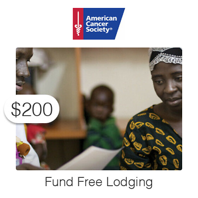 $200 Charitable Donation For: Fund Free Lodging