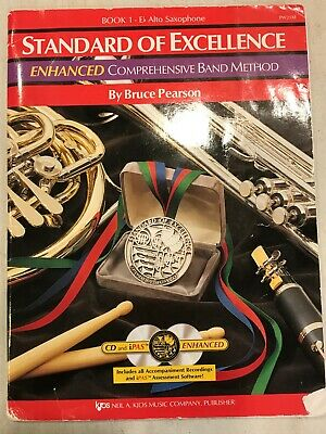 Standard Of Excellence Band Method Book 1 Eb Alto Saxophone Paperback CD