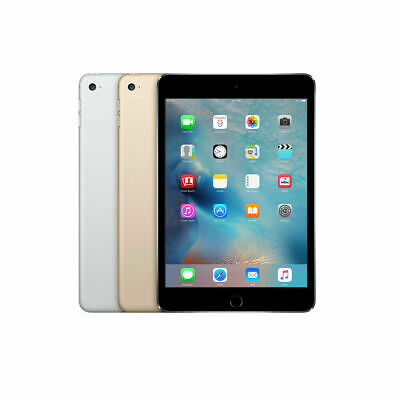 Apple iPad Mini 4 16/64/128GB - WiFi or 4G - 7.9in - All Colours-Various Grades