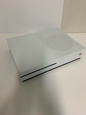 Microsoft Xbox One S Model 1681 White 500 gb