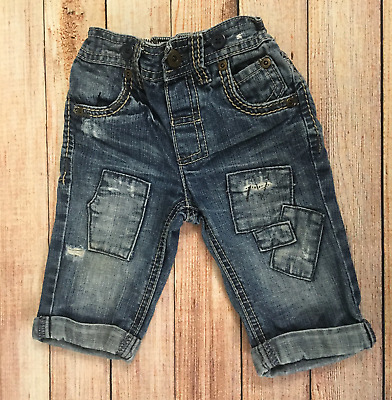 3-6 Months Ripped Jeans
