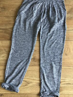 Age 10-11 pale blue/grey slouch trousers