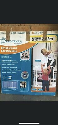Dreambaby Baby safety gate Auto-closing Fits Door Opening 71-82cm