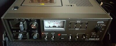 Vintage Teac Cassette Data Recorder R-61 Made in Japan. Works well.