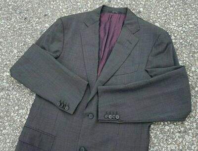 Ermenegildo Zegna Men's Sport Coat Jacket 'Fit Mila' Gray 100% Wool Size 38R