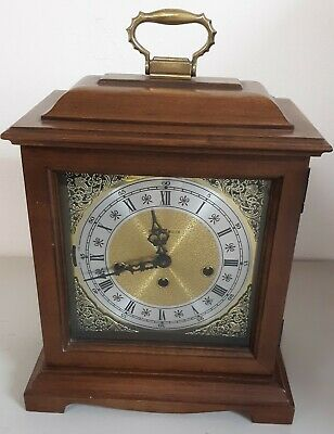Howard Miller 612-437 Wooden Mantle Clock Hermles Movement 340-020 West Germany
