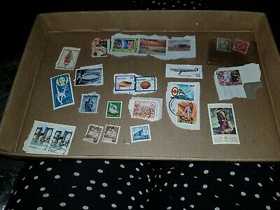 Collection Of Chinese & Worldwide Postage Stamps