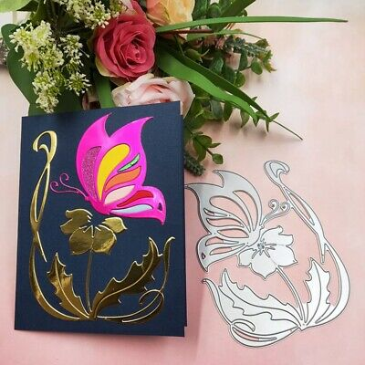 Flower Butterfly Carbon Steel Die Metal Cutting Dies Embossing For Card Maki.GRi