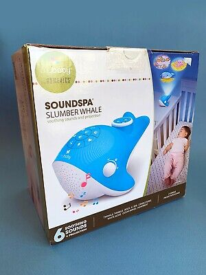 NEW MyBaby SoundSpa Slumber Whale Sounds & Projection (in packaging)