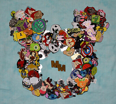 Brand New Pins - Disney Pin Trading 10 Assorted Pin Lot - No Doubles – Tradable