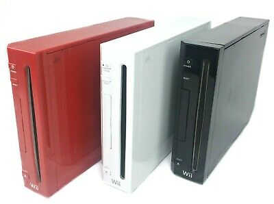 Nintendo Wii Console Replacement Only RVL-001 / 101 - Choose Your Model & Color
