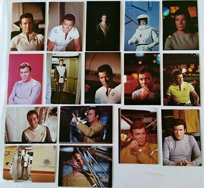 Rare Star Trek Roddenberry Promotional Card Set #2114 - Kirk, The Motion Picture