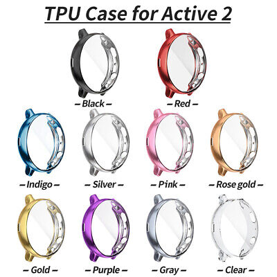 Full Cover Case TPU Screen Protector for Samsung Galaxy Watch Active 2 40mm/44mm