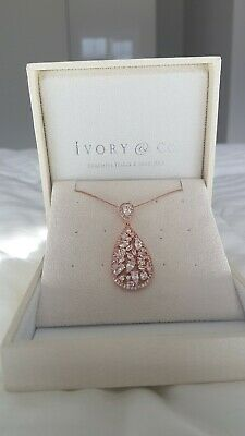 Ivory & Co Rose Gold Necklace