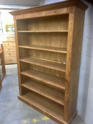 Antique Victorian Large Pine Bookcase/ Unit.Free Delivery To Ipswich,Diss,NR11.
