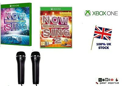 Xbox One NOW THAT'S WHAT I CALL SING Games +  Microphones / Mic - Select
