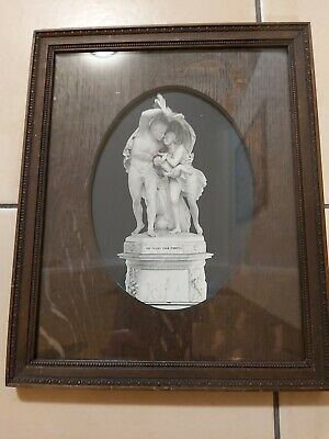 Antique Framed Photo of 'The Flight from Pompeii' ** sale **