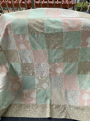 Unfinished Baby Quilt Top Wonder Fabric