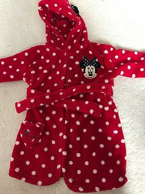 12-18mth Minnie Mouse Dressing Gown