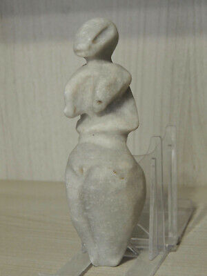 Ancient Stone figure statuette,Fertility Idol,God,Alien