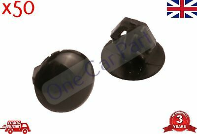10 x Ford 7mm Weatherstrip Rubber Seal Door Bonnet Shut Retainer Clips FOR03