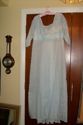Gowns and Glory Historical Clothing Regency dress pale blue