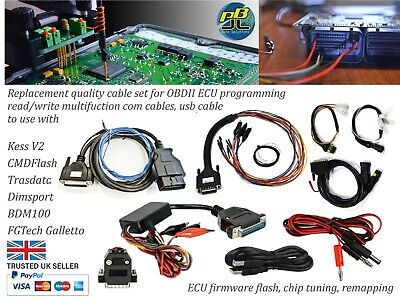 OBD2 programming cables for KESS V2 DimSport Trasdata BDM100 CMDFlash Galletto
