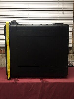 Peli Style Tough Rugged Hard Military Storm Proof Case Large H 50 W 55 D 22 CM