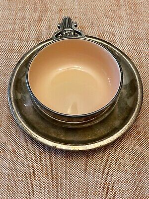 Vintage Reed & Barton Child's bowl & Bernard Rice's Sons Apollo EPNS Small Plate