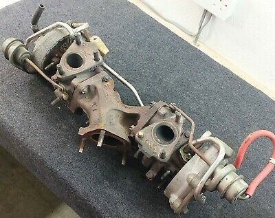 1JZ GTE Turbos with Manifold - Soarer